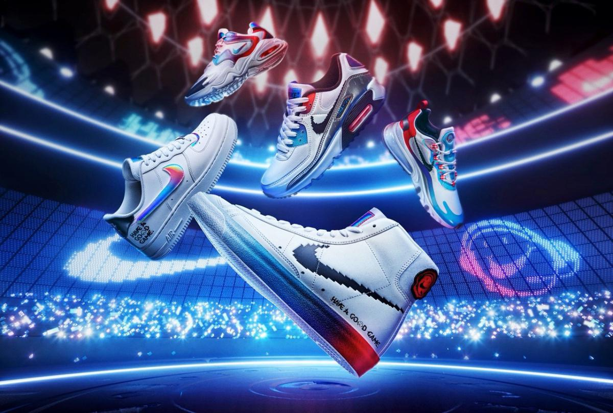 Nike prépare une nouvelle collection de chaussures et de vêtements League of Legends