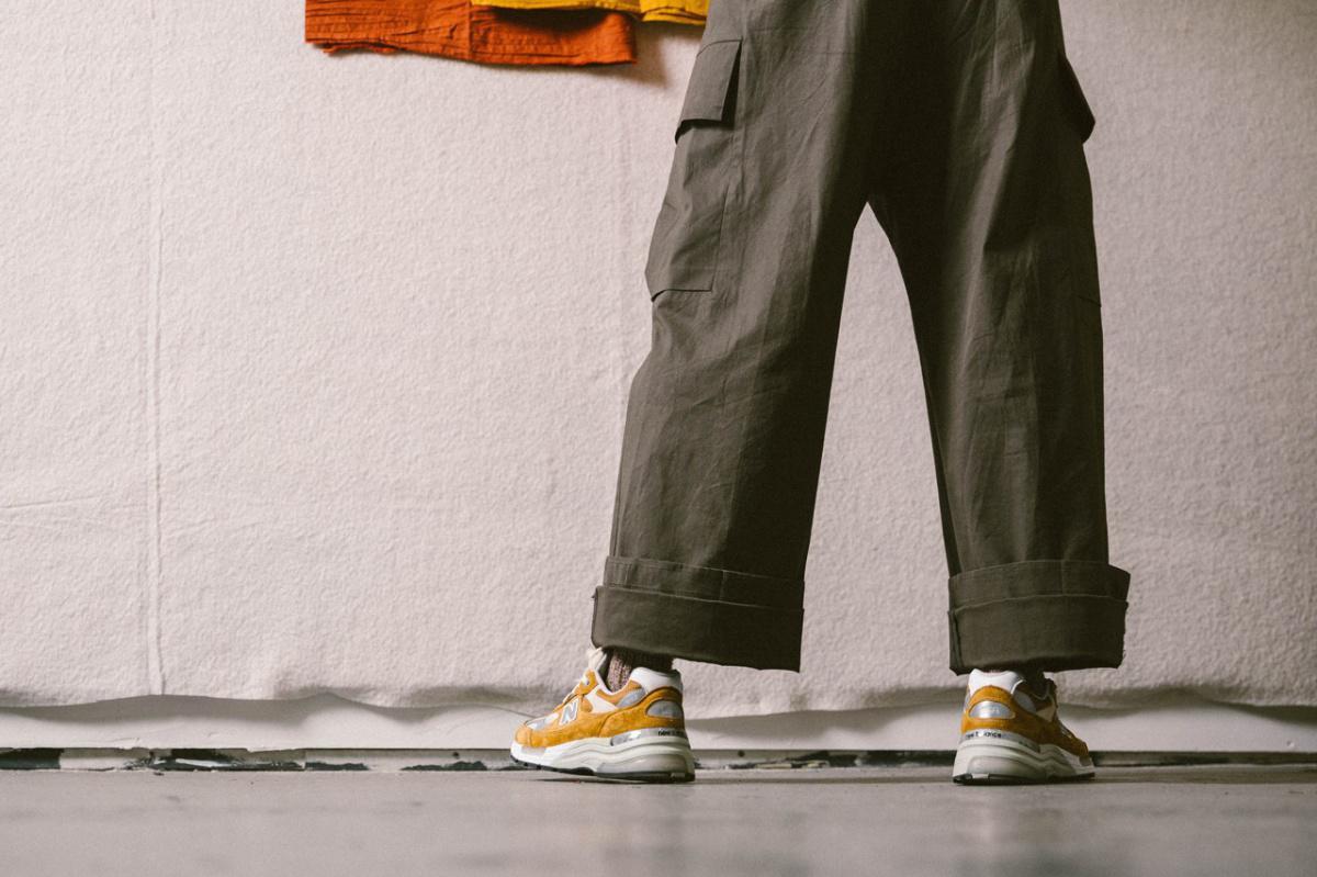 Packer et New Balance célèbrent l'artisanat Made in the USA avec une 992