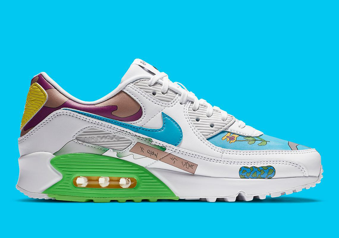 Images officielles Ruohan Wang x Nike Air Max 90 Flyleather