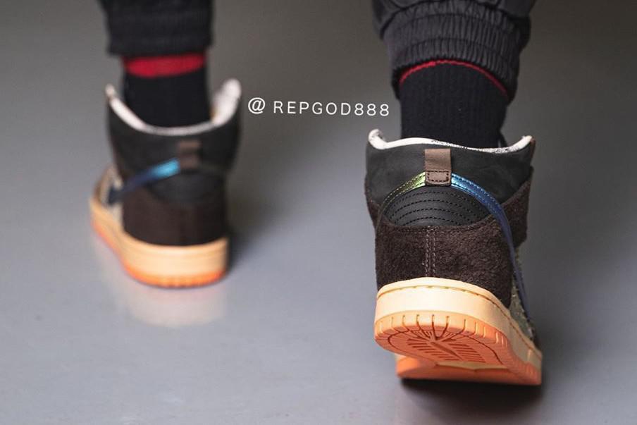 Concepts et Nike SB pour une SB Dunk High Pro Duck