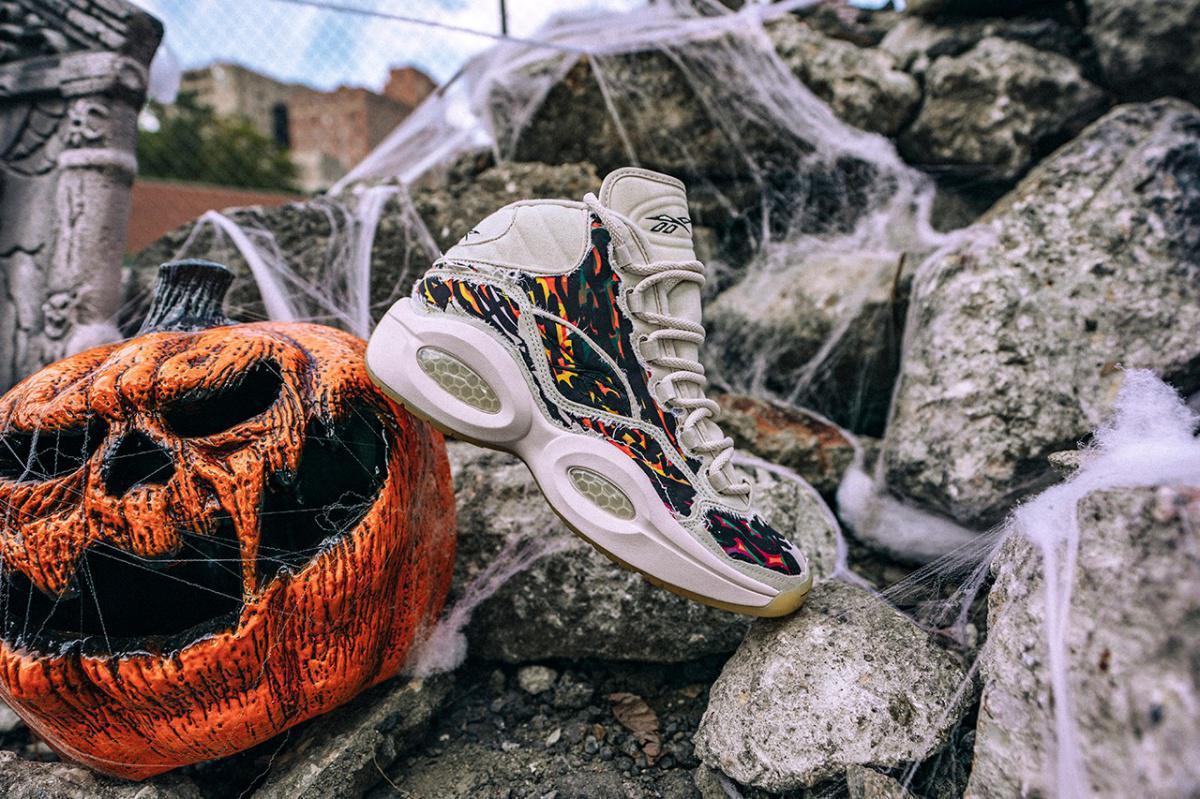"Reebok se prépare pour Halloween avec le pack ""Boktober"" Heritage Basketball"