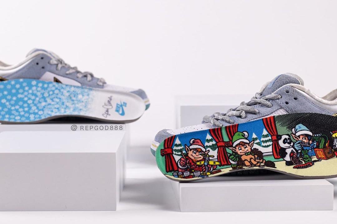 Sean Cliver et Nike SB se réunissent pour une nouvelle collaboration SB Dunk Low sur le thème des vacances