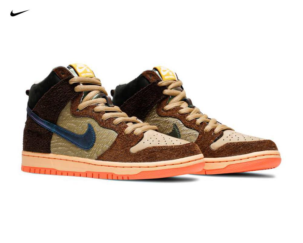 NIKE SB Dunk High x Concepts Turdunken