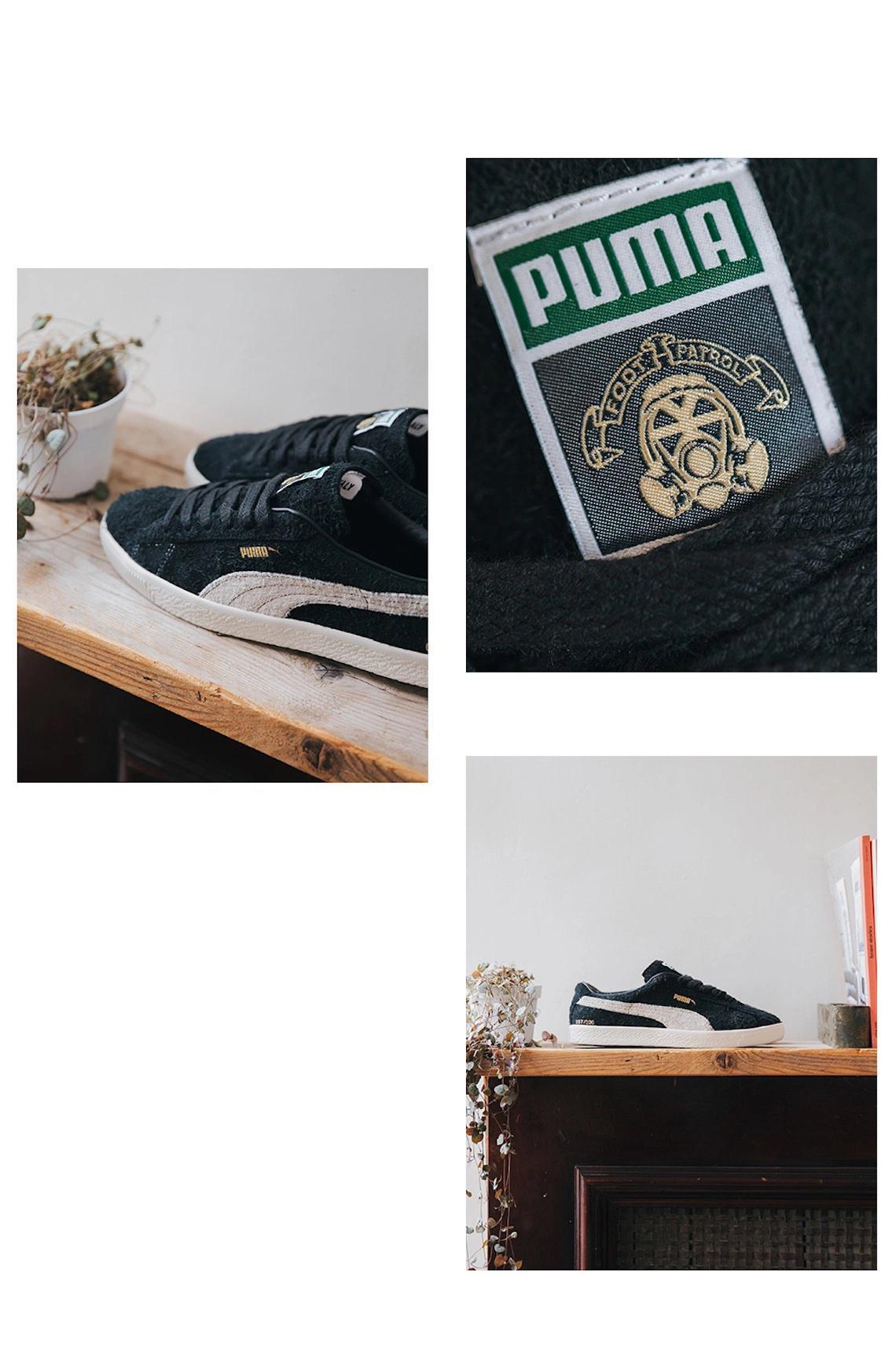 Footpatrol ajoute des accents dorés à sa collaboration de 200 paires de PUMA Suede