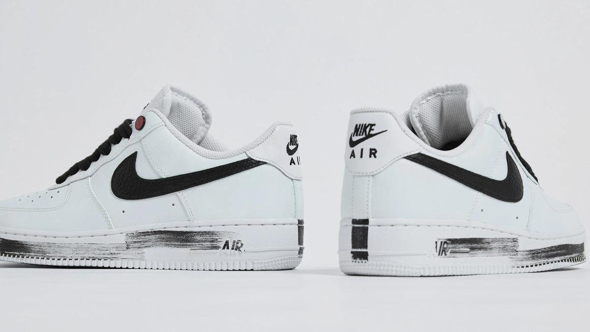 NIKE Air Force 1 x G-Dragon Para Noise White