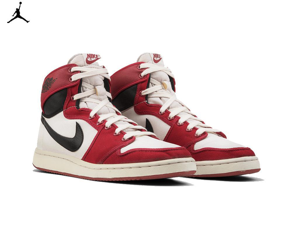 Air JORDAN I OG KO White Black Red