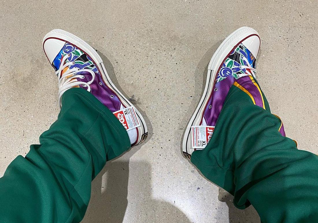 Joe Freshgoods tease une nouvelle collaboration avec Converse Chuck 70