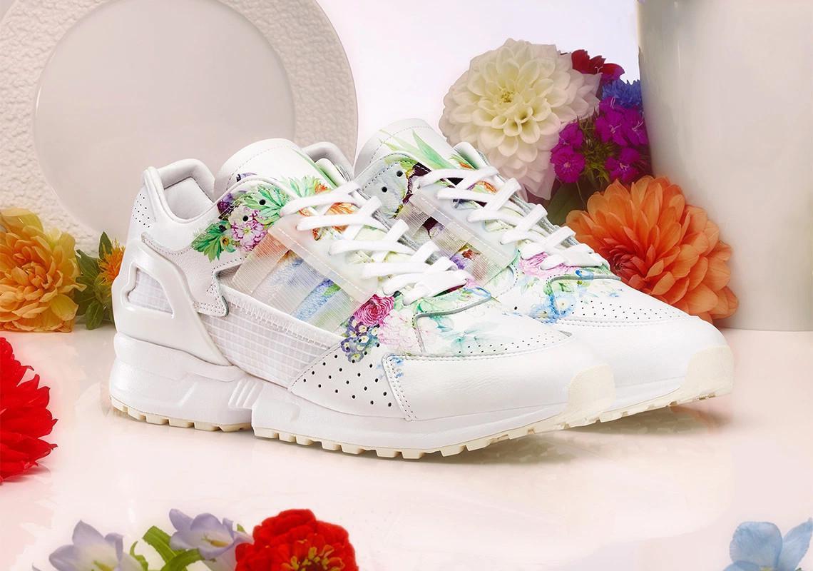 Meissen ajoute des empreintes florales à l'adidas ZX10.000C