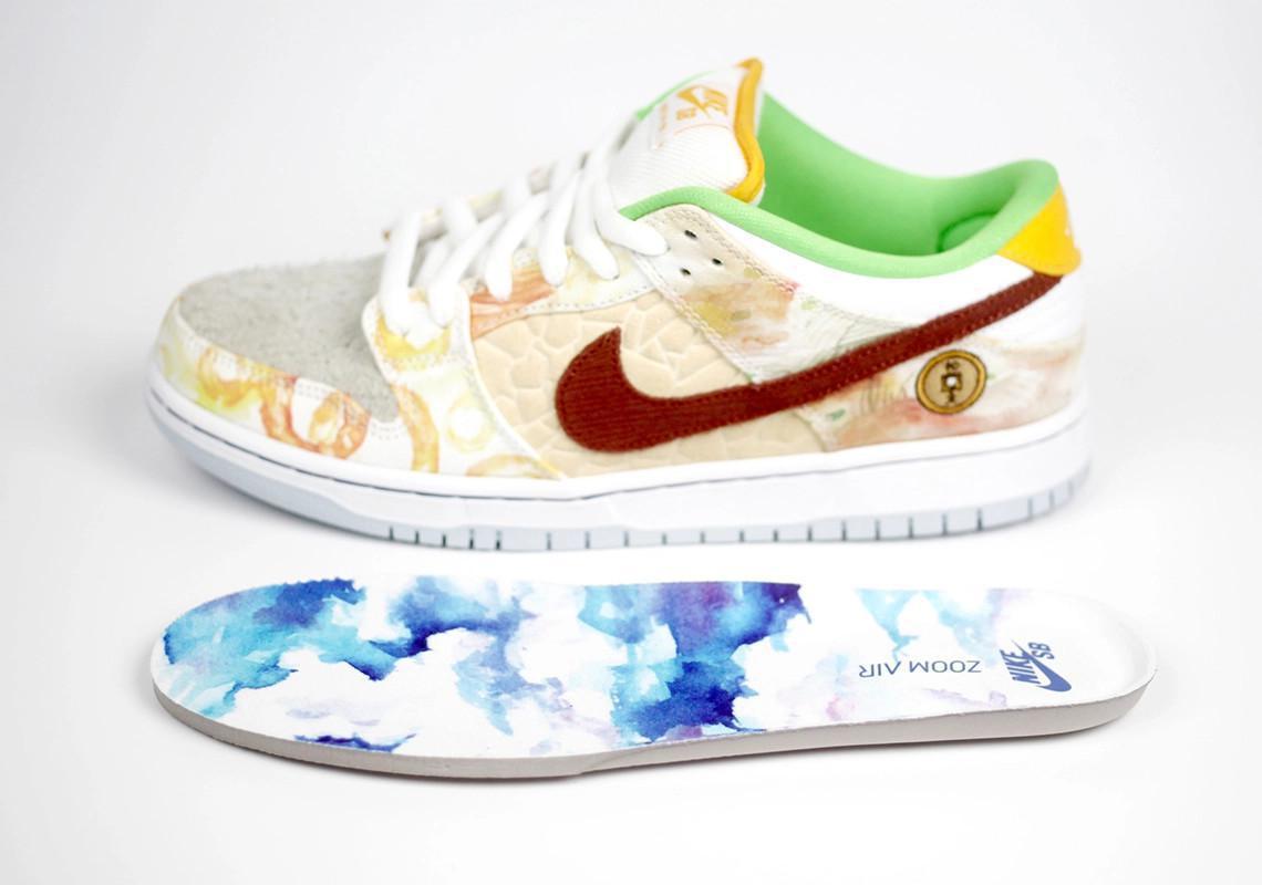 "Nike SB Dunk Low ""Street Hawker"" par Jason Deng sort le 13 janvier"