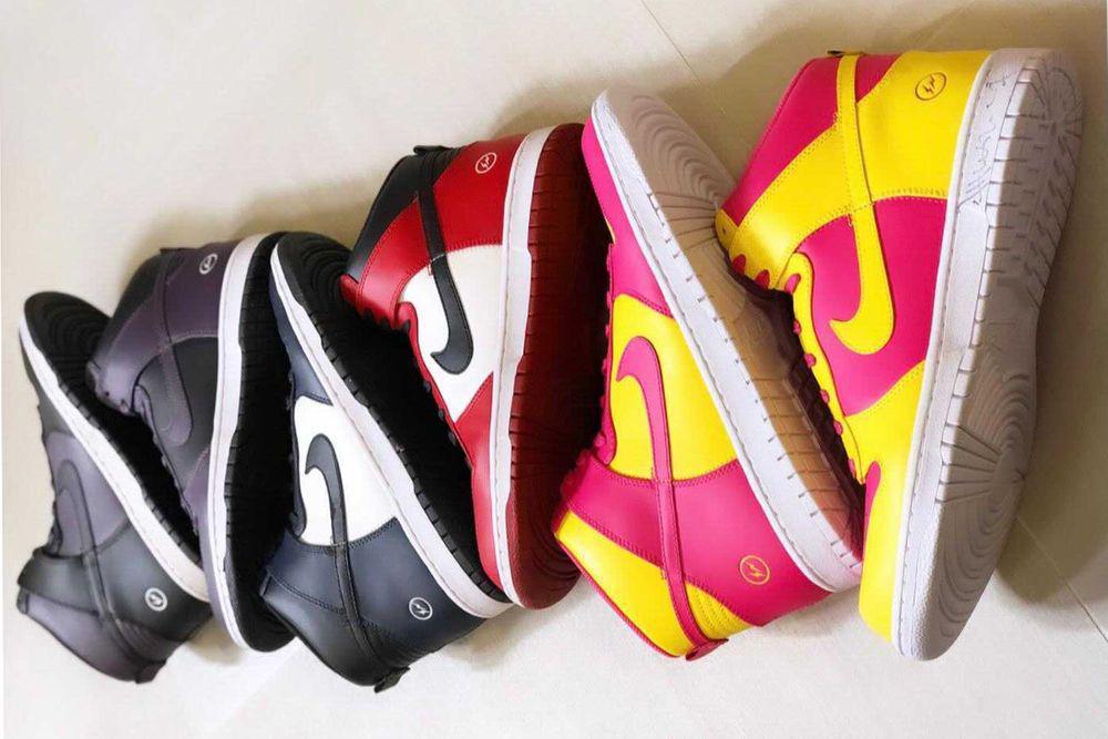 "Hiroshi Fujiwara tease une éventuelle ressortie du fragment x Nike Dunk High ""City Pack"""