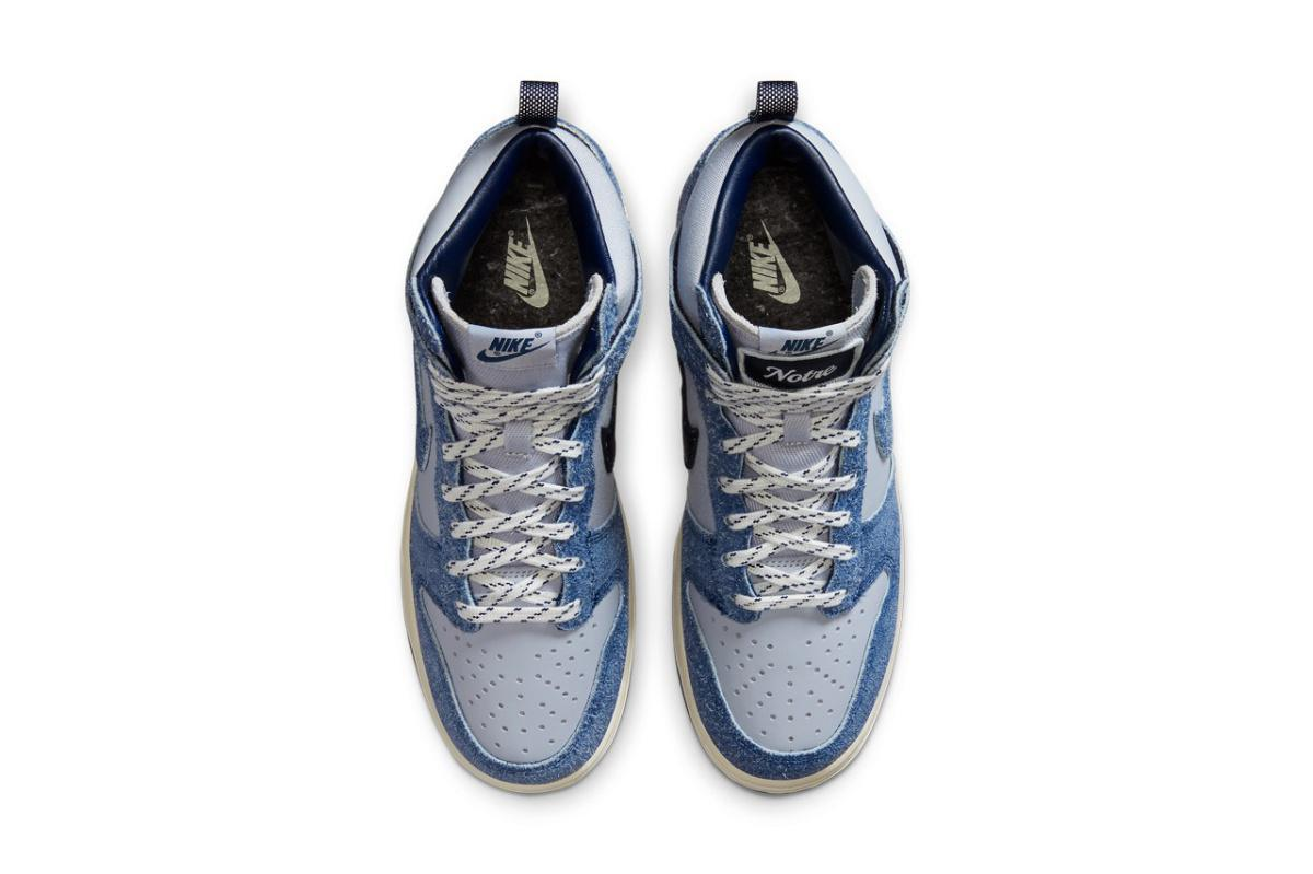 NIKE Dunk High x Notre Blue Void