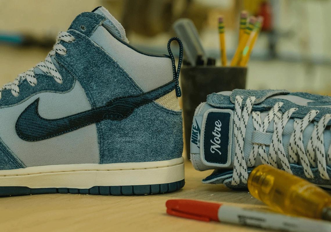 La Notre x Nike Dunk High commence son déploiement le 21 janvier