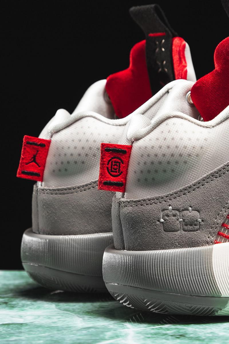 """CLOT x Air Jordan Retro 35 SP """"Warrior Jade"""""""