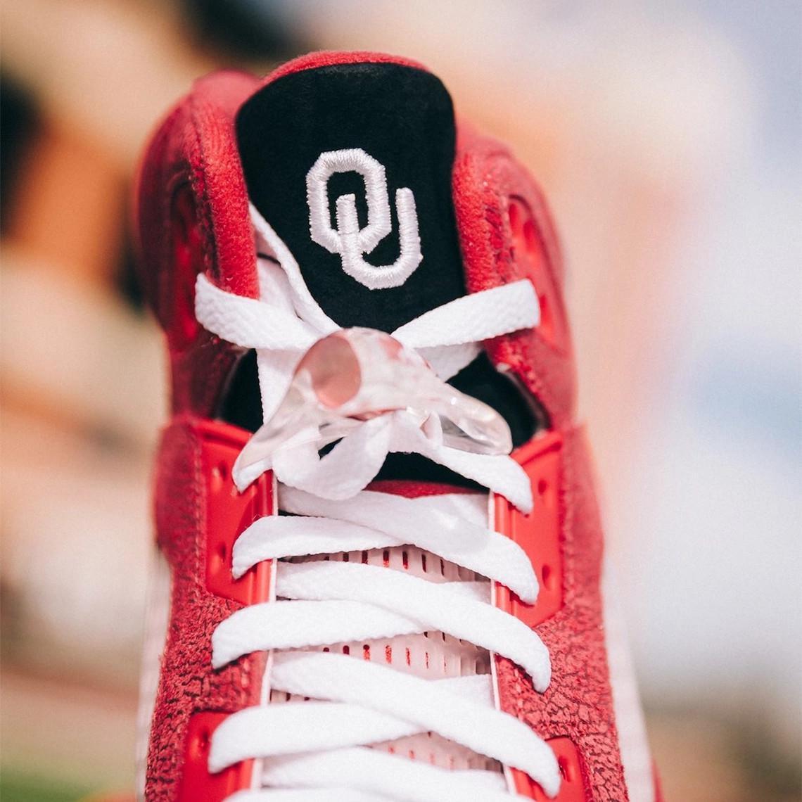 Air Jordan 5 PE Oklahoma Sooners