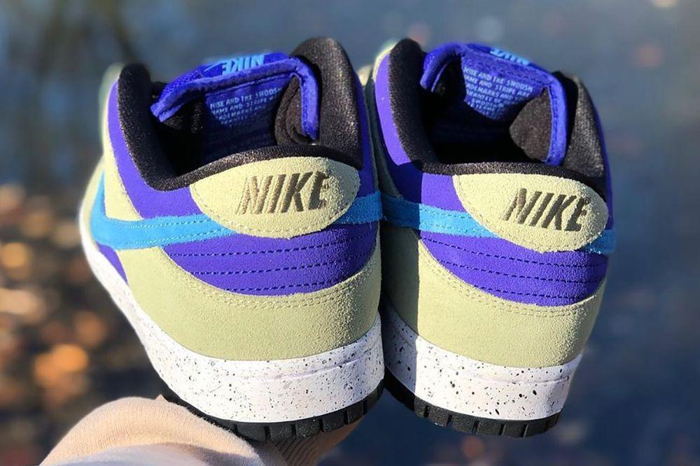 "Premier aperçu de la Nike SB Dunk Low ""ACG Caldera"""