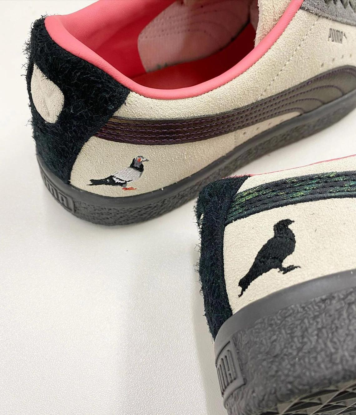 "Atmos x Staple Puma Suede ""Pigeon And Crow"""