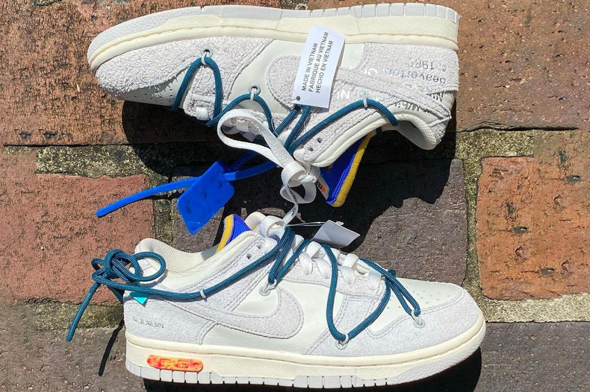 """Off-White™ x Nike Dunk Low """"THE 50"""" 16 of 50"""