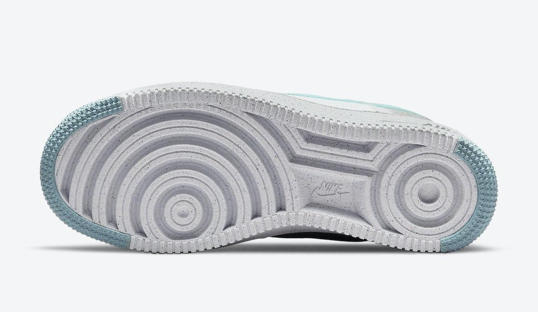 La Nike Air Force 1 apparaît avec des swooshes bleu Tiffany