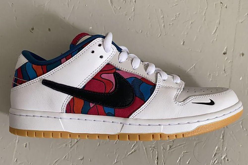 Les quatre samples de Parra x Nike SB Dunk Low