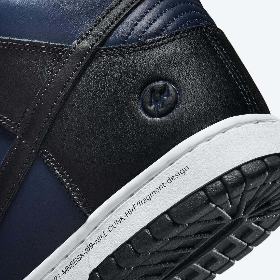 "Nike Dunk High x Fragment ""Tokyo"""