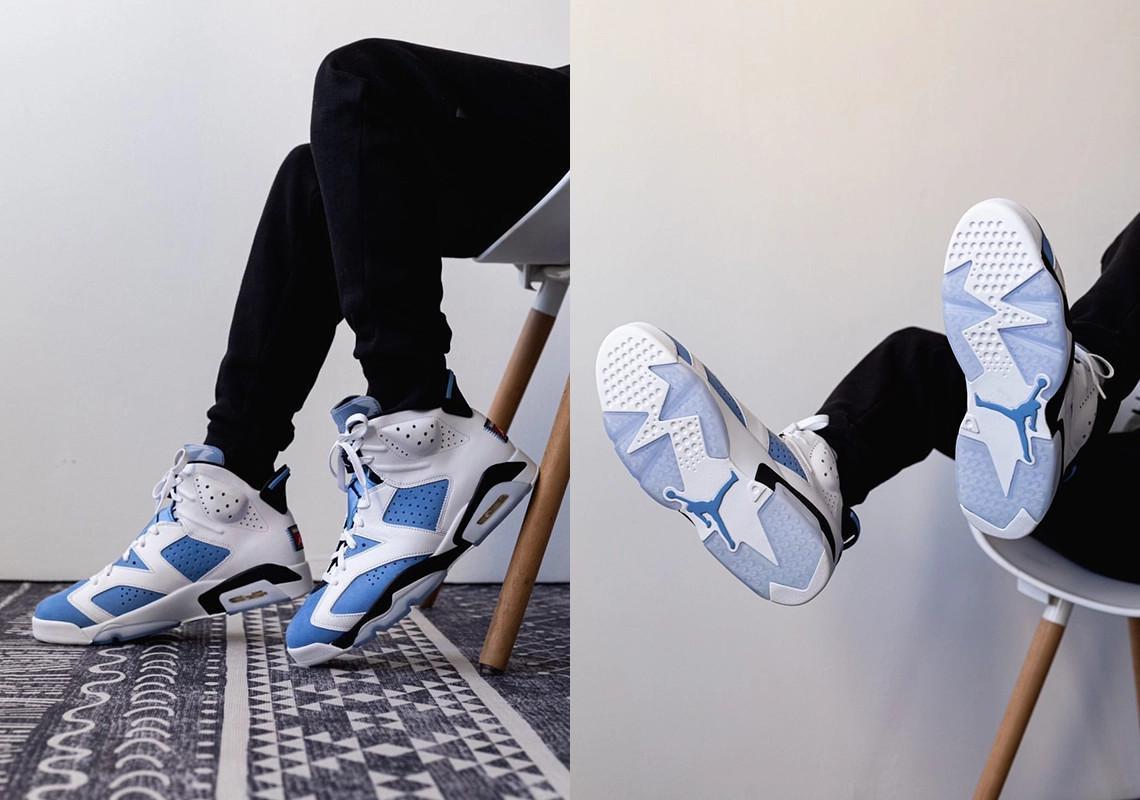 """Air Jordan 6 """"UNC"""""""