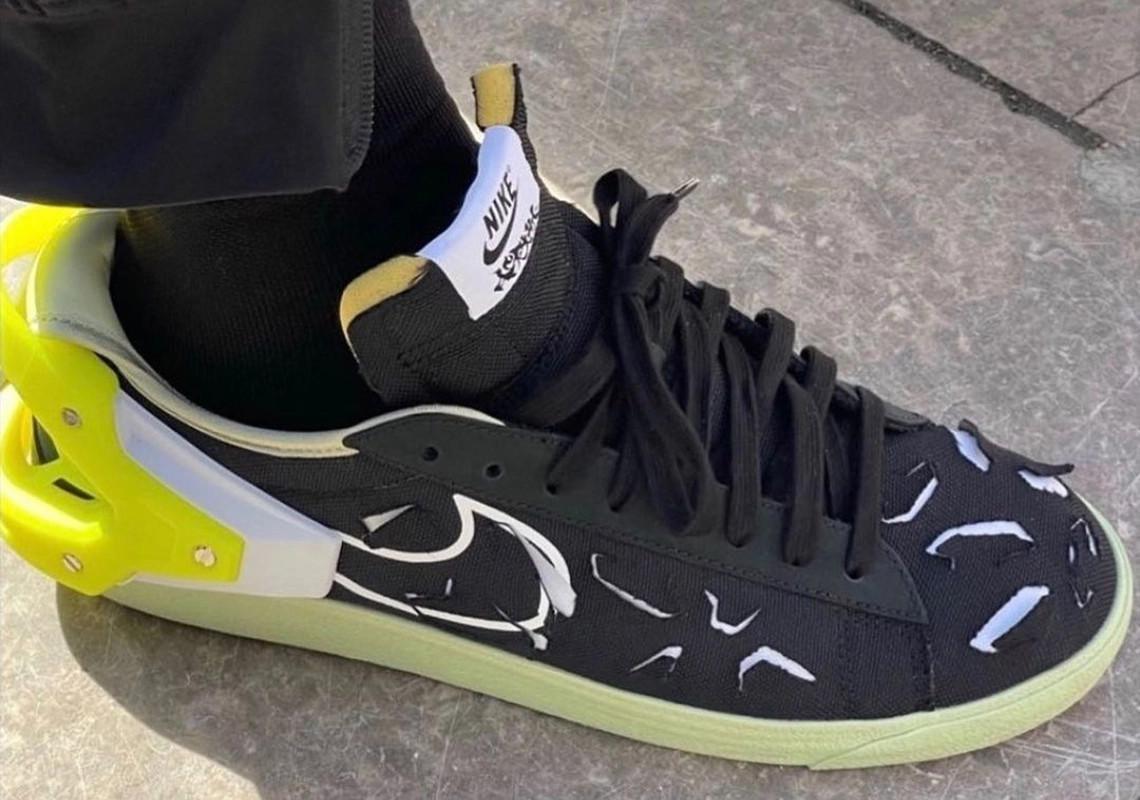 Premier regard sur le Blazer Low d'ACRONYM x Nike