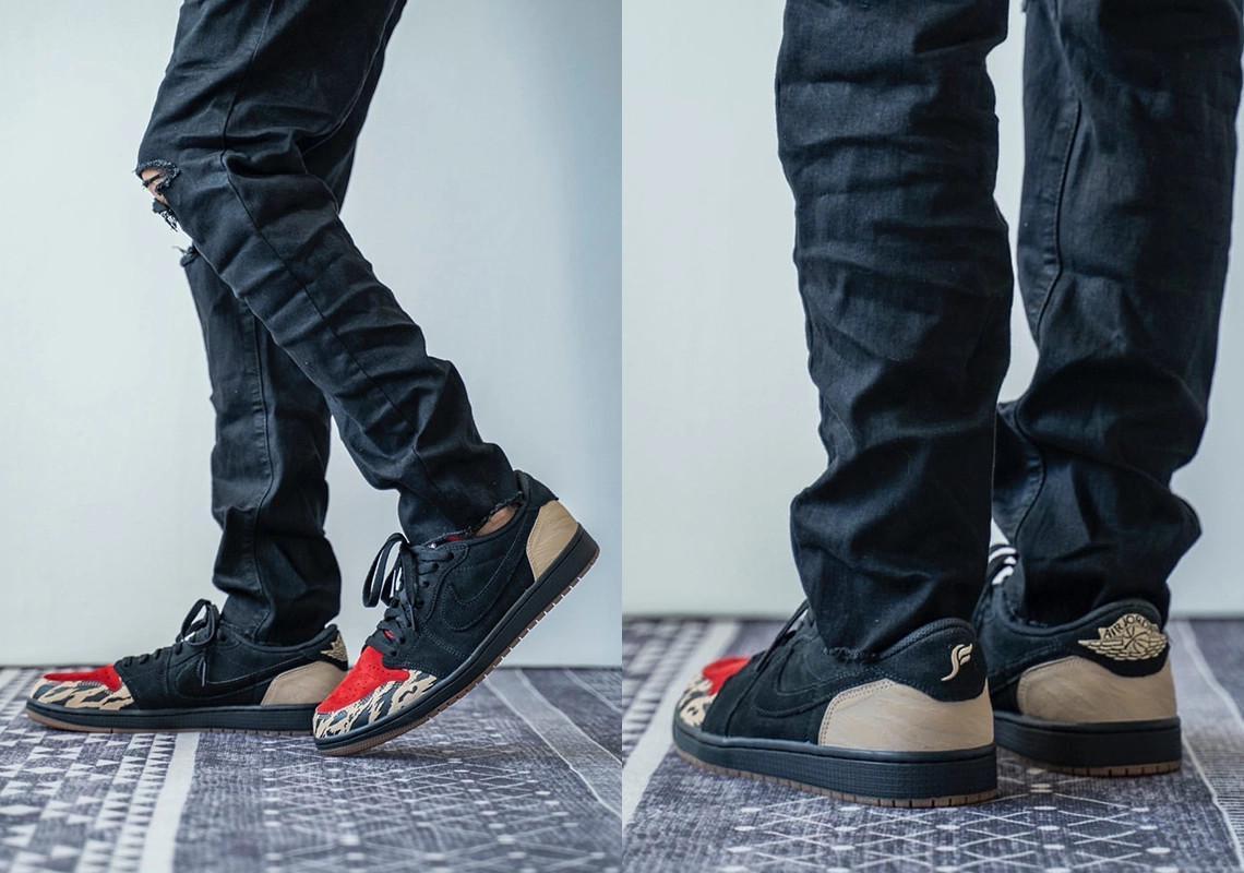 Premier regard sur le prochain SoleFly x Air Jordan 1 Low