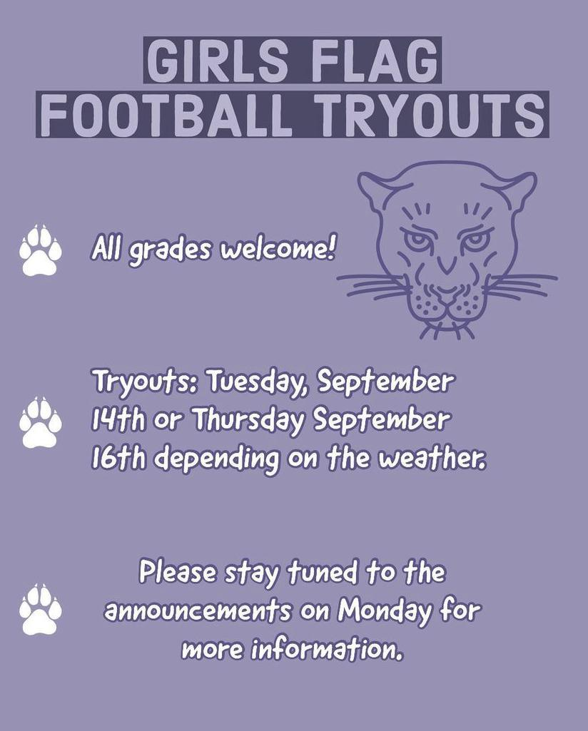 Sports tryouts this week