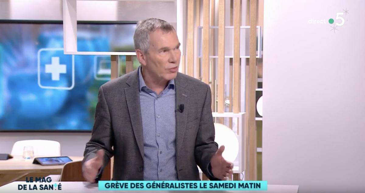 La grève des samedis matins des généralistes expliquée par le président de MG France