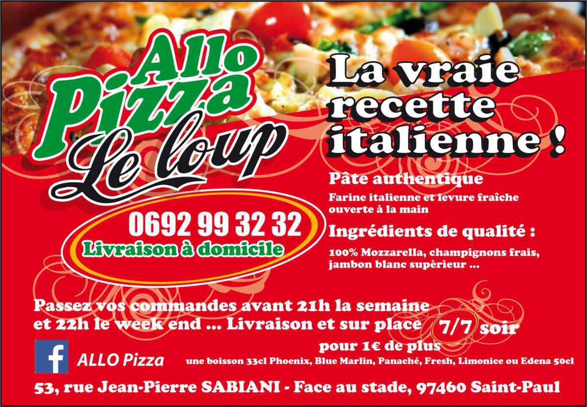 Allo Pizza Le Loup