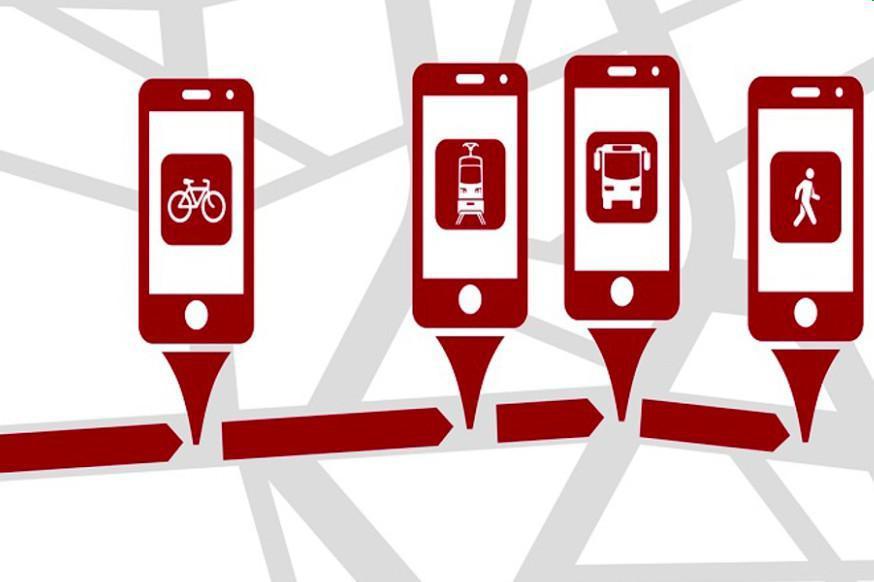 Smartphone-basierte Verkehrsmittel-Erkennung