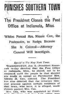 The Indianola Affair