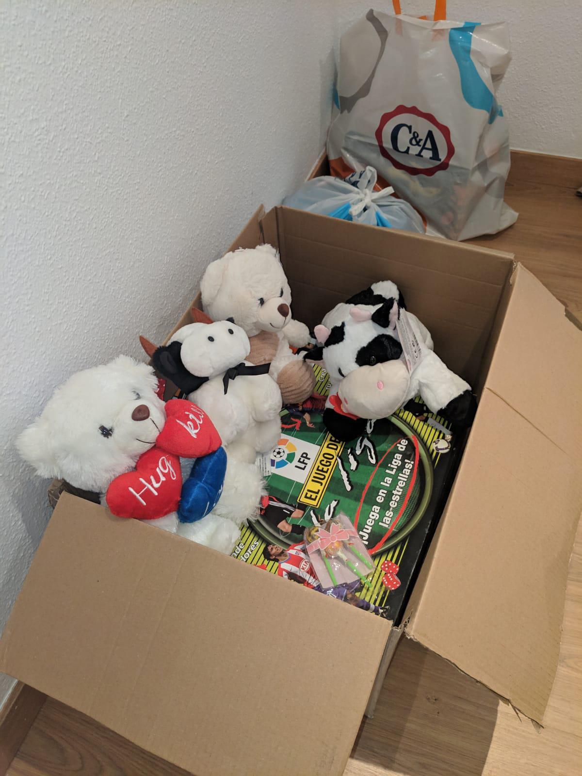 Recepción de juguetes, ¡Ni un niño sin juguete, cuidemos su infancia!