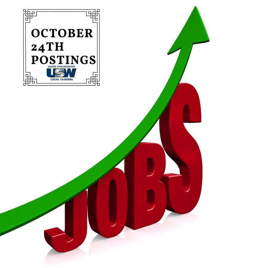 October Job Posting Information.