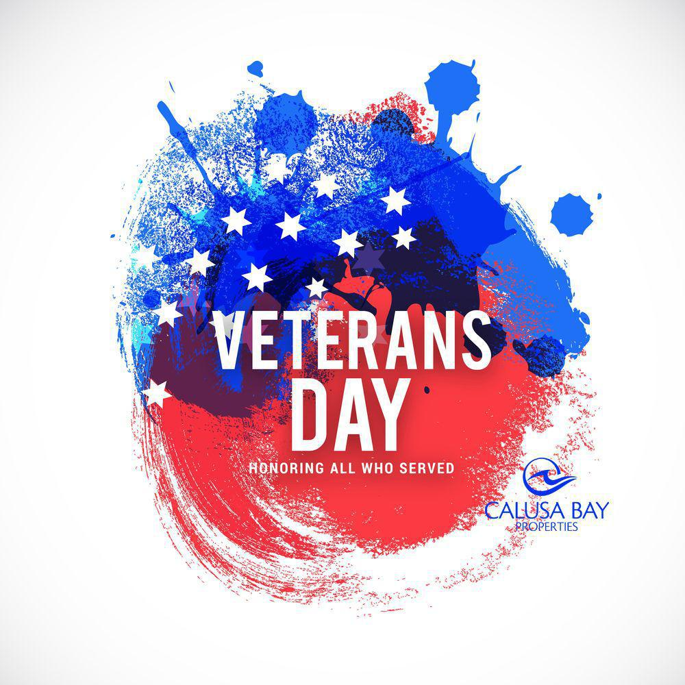 Veterans Day November 11th Celebration.