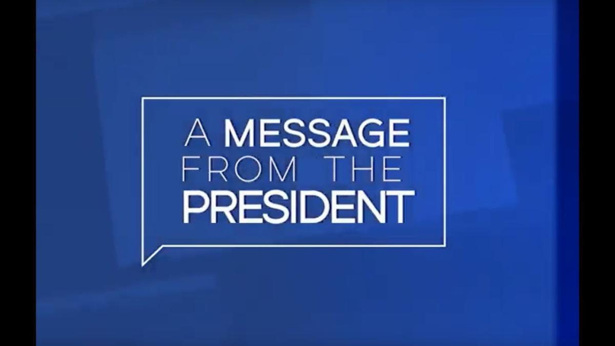 Important Message From The President