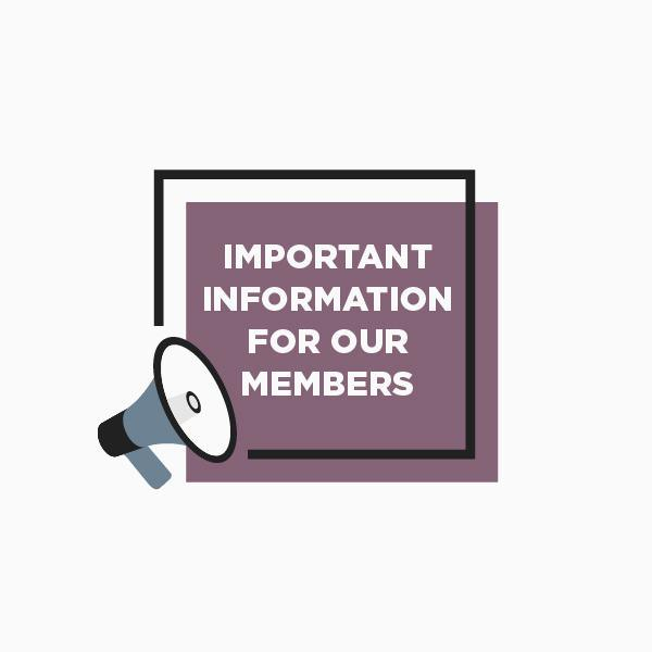 Important Message To Membership
