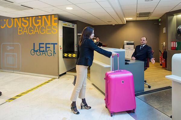 Consignes à bagages