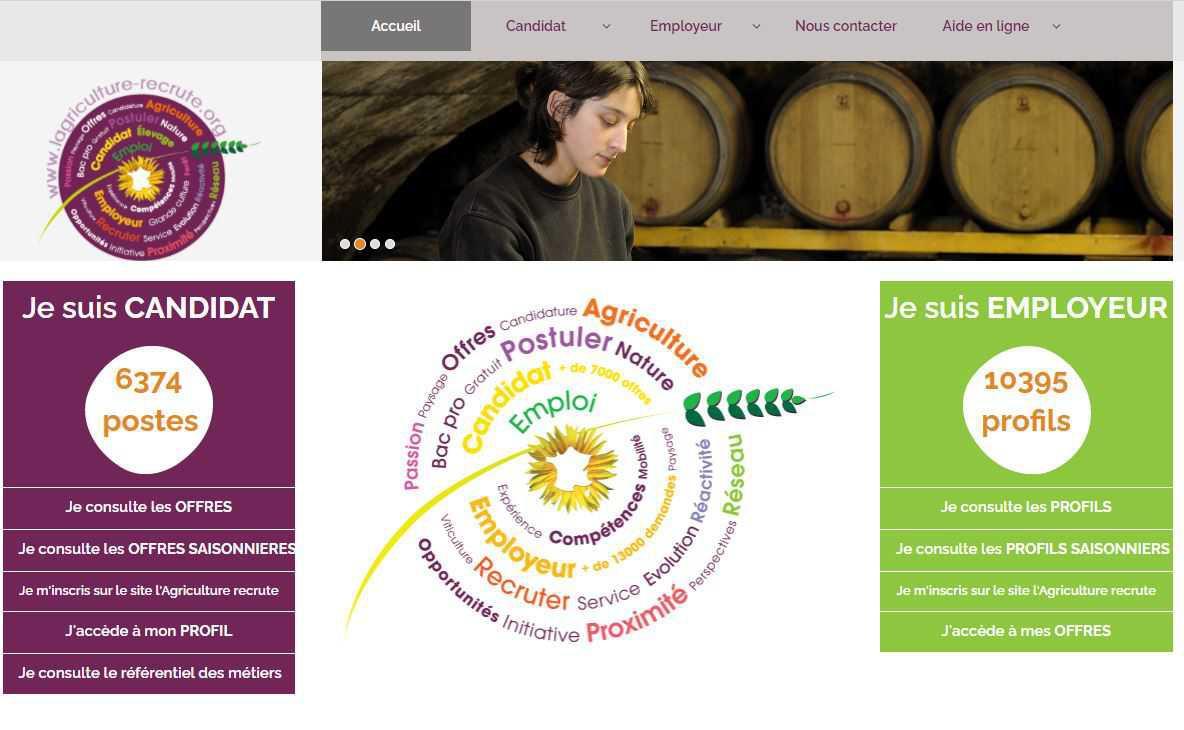 Lagriculture-recrute.com