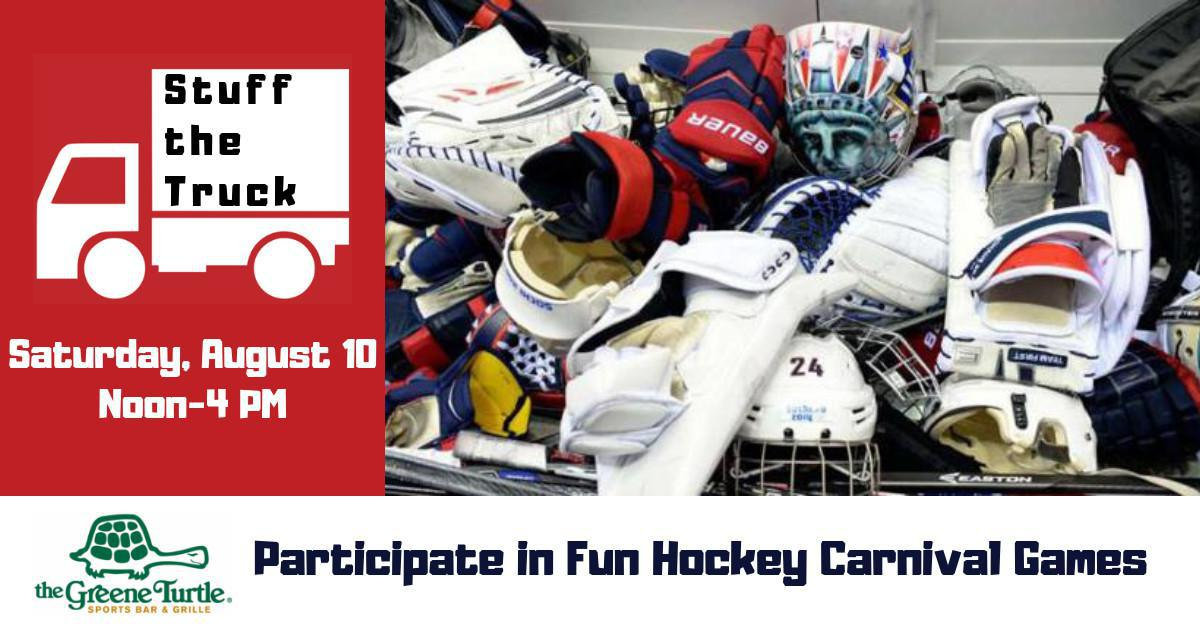 Hockey Carnival Games & Stuff the Truck Event