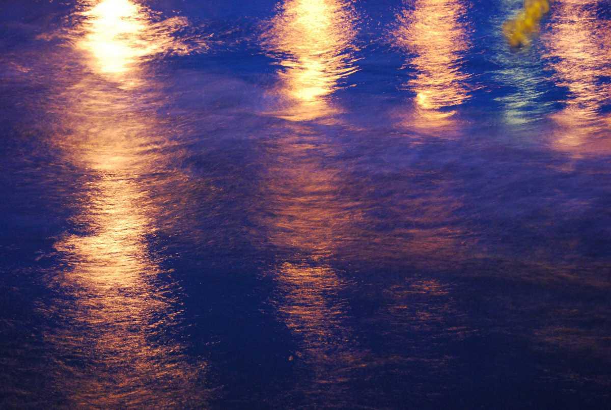 Reflets dans la nuit