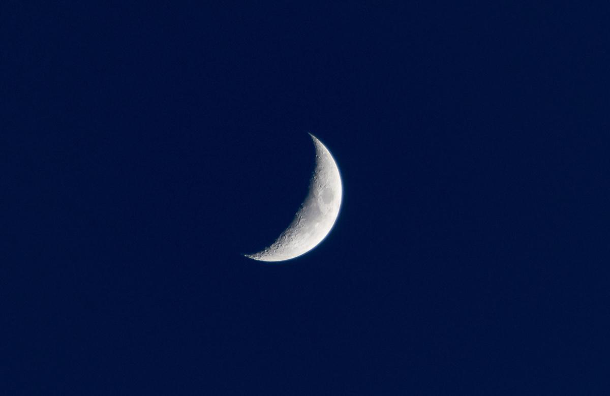 Le croissant de lune