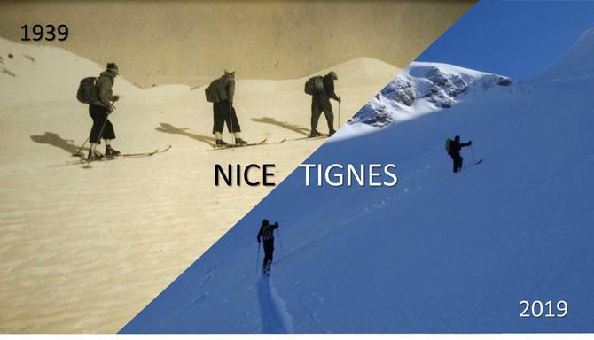 Osez l'aventure / Interview / Raid Nice-Tignes à ski en 6 jours
