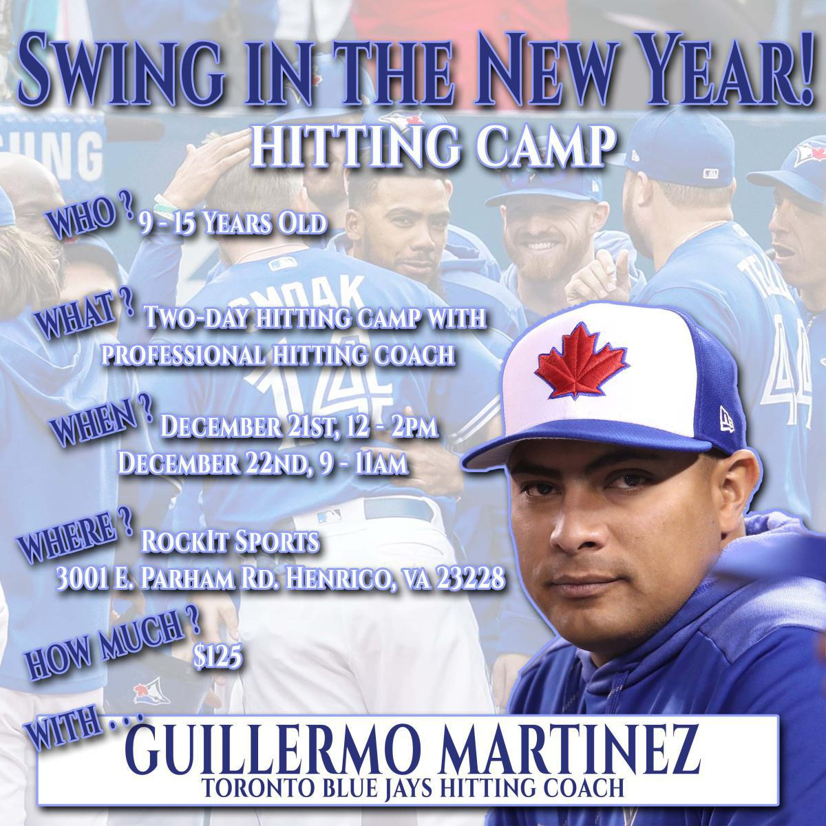 Swing in the New Year: Holiday Hitting Camp