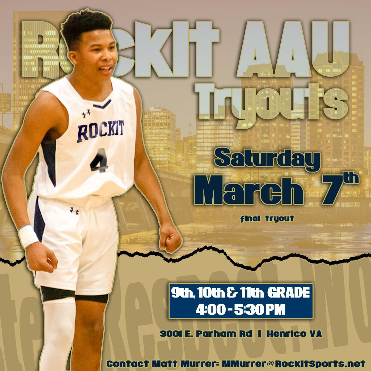 Boys AAU Tryouts