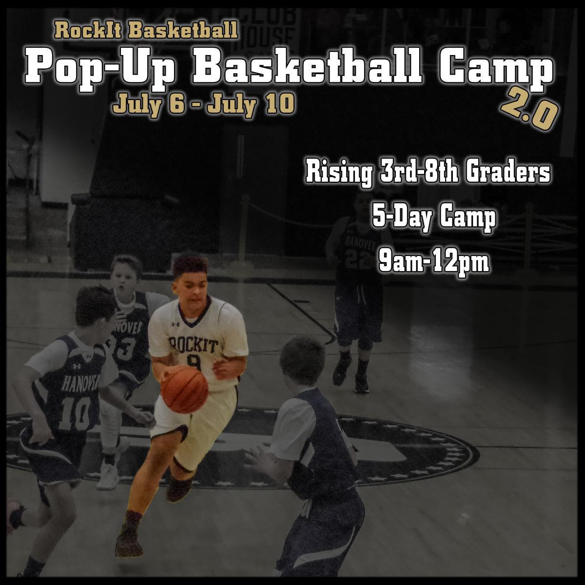Pop-Up Basketball Camp 2.0