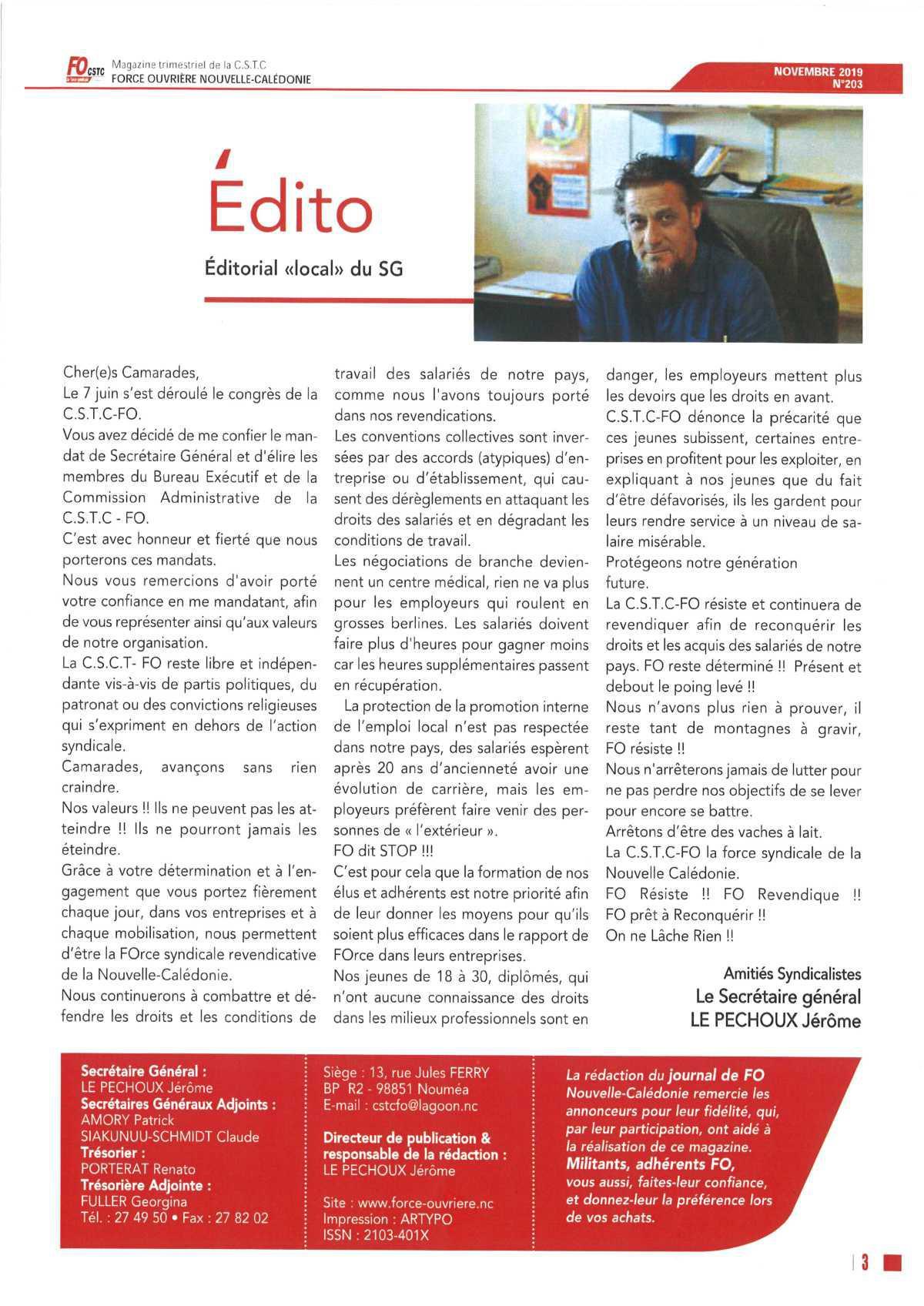 L'Edito LS 203