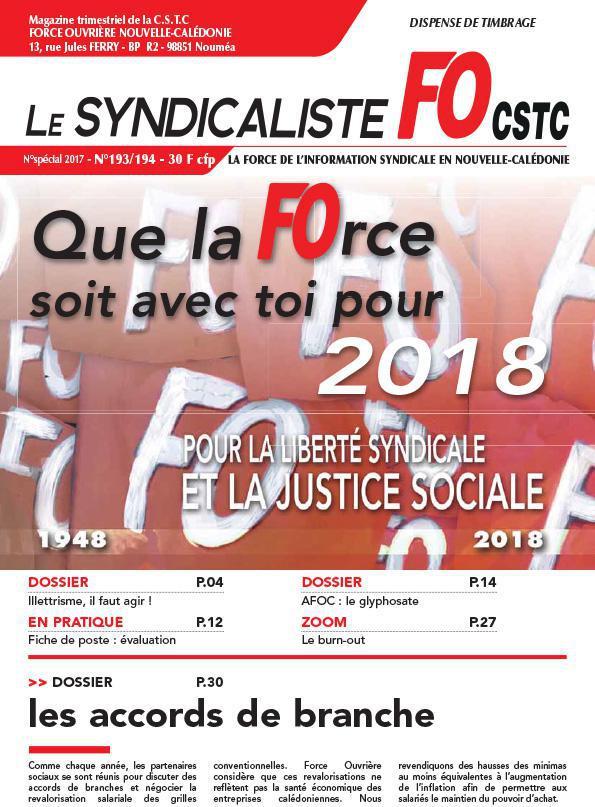 LE SYNDICALISTE n°193-194