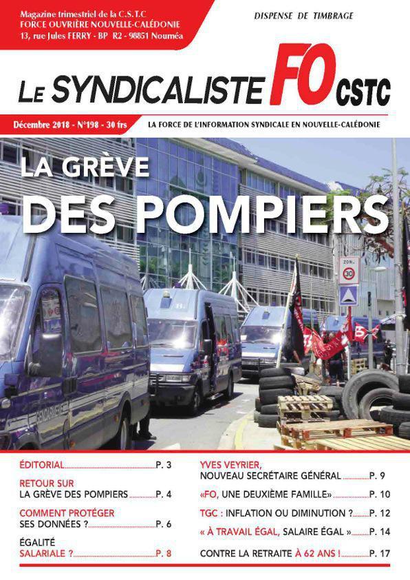 Le Syndicaliste 198