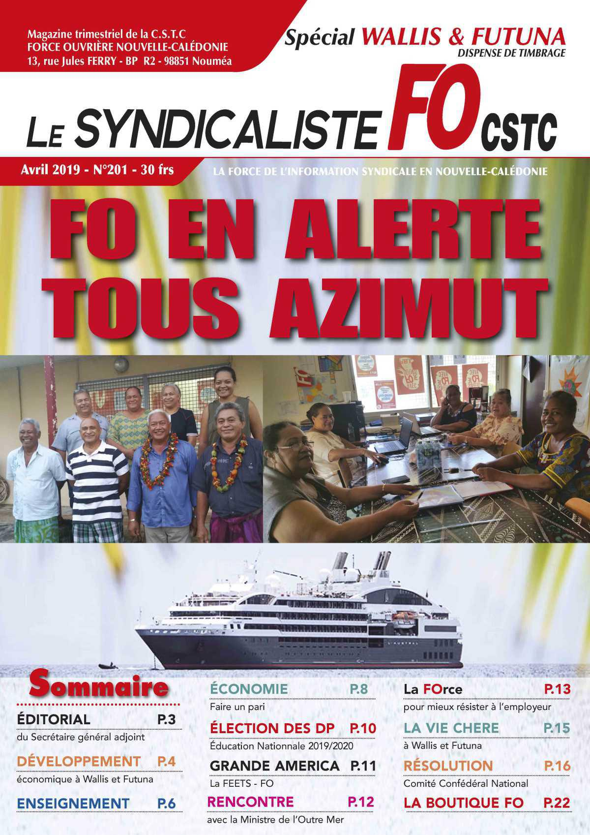 Le Syndicaliste 201